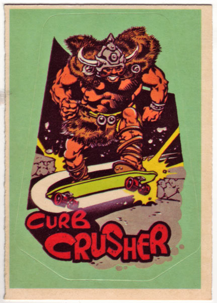curb crusher